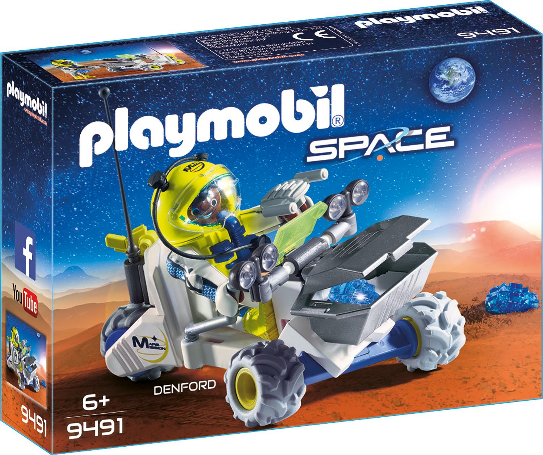 Denford si tricicleta spatiala playmobil space