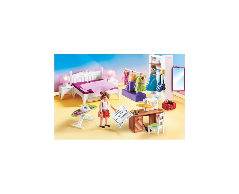 Dormitorul familiei playmobil doll house - 1