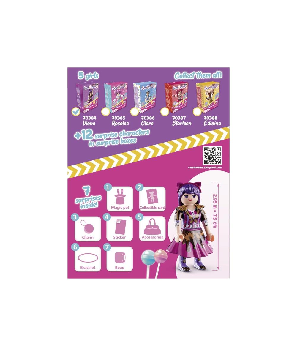 Figurina viona cu surprize playmobil everdreamerz - 1