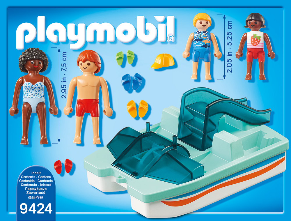 Familie cu hidrobicicleta playmobil family fun - 1