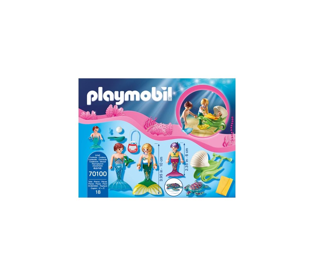 Familie de sirene playmobil magic - 2