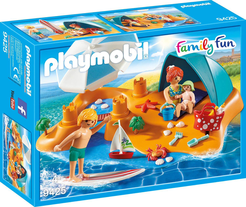 Familie la plaja playmobil family fun