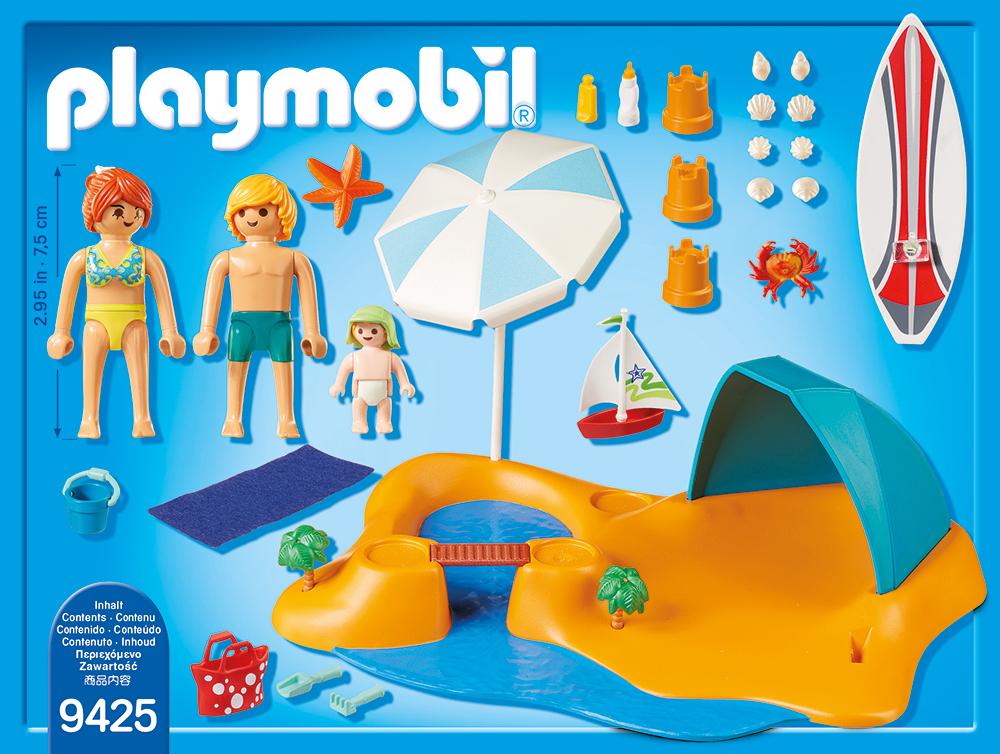 Familie la plaja playmobil family fun - 1