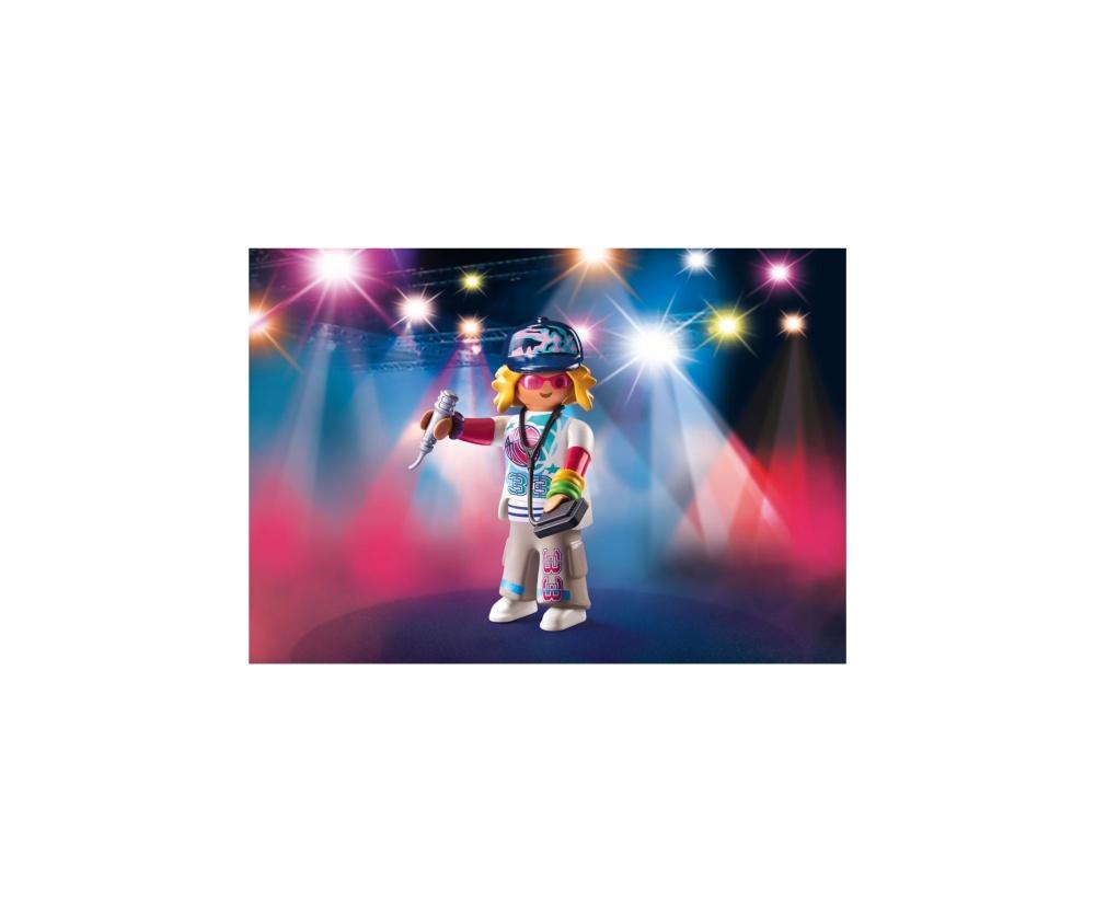 Figurina cantaret rap playmobil - 1