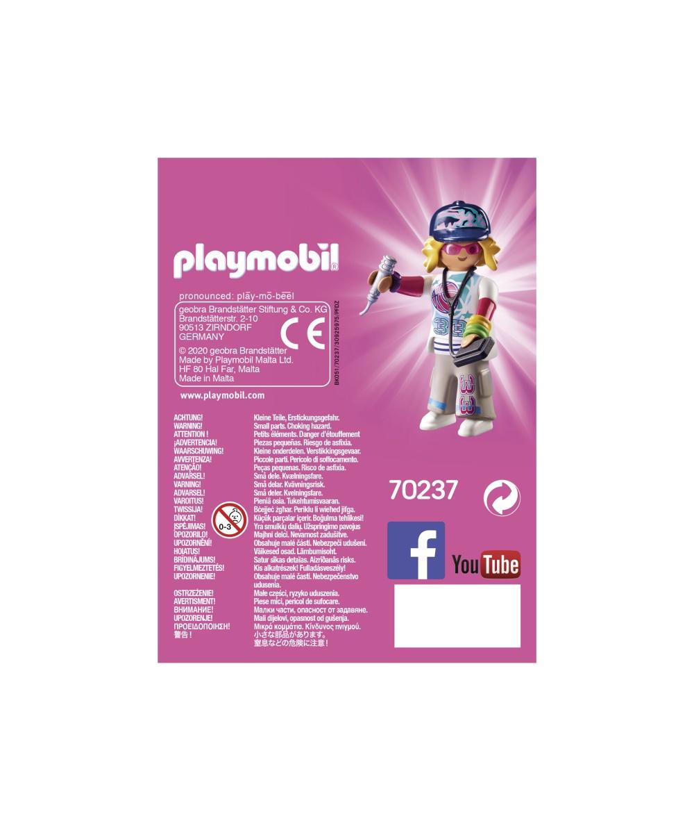 Figurina cantaret rap playmobil - 2