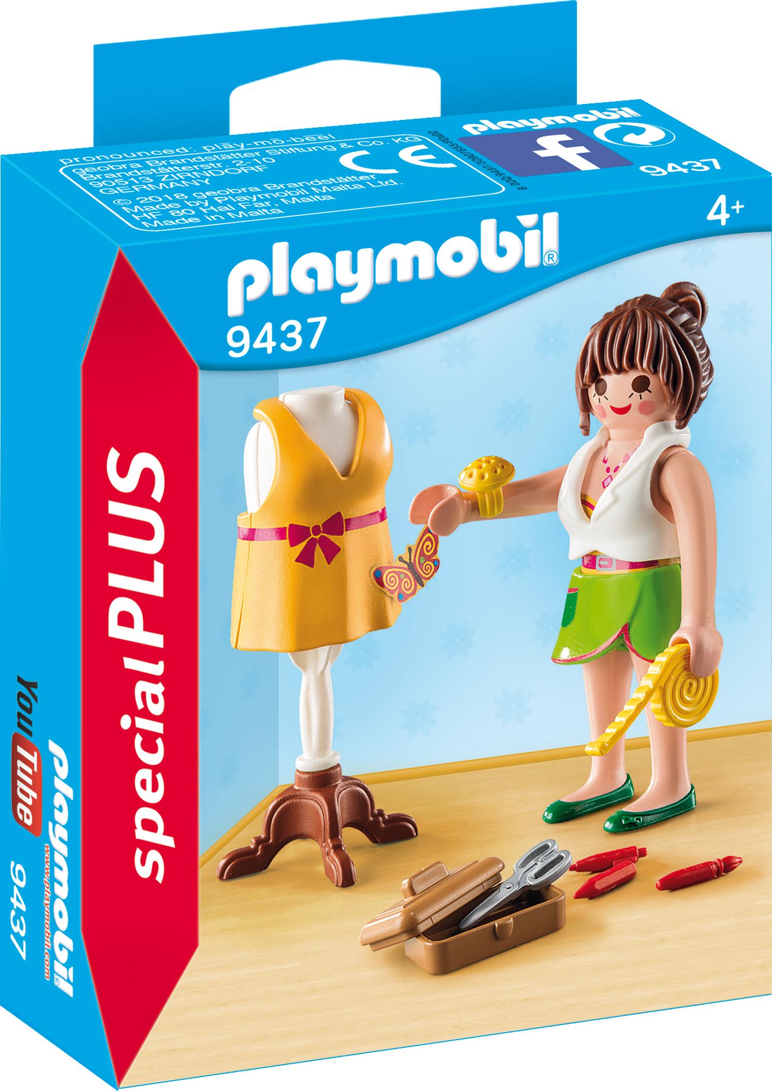Figurina designer vestimentar playmobil