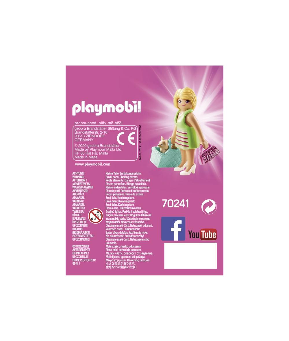 Figurina fetita cu geanta playmobil - 2