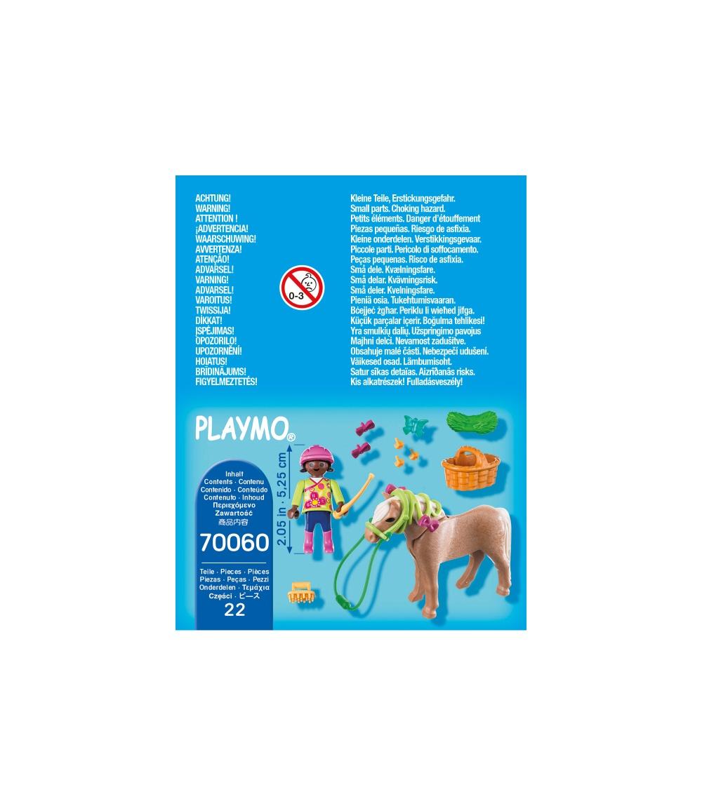 Figurina fetita cu ponei playmobil - 2