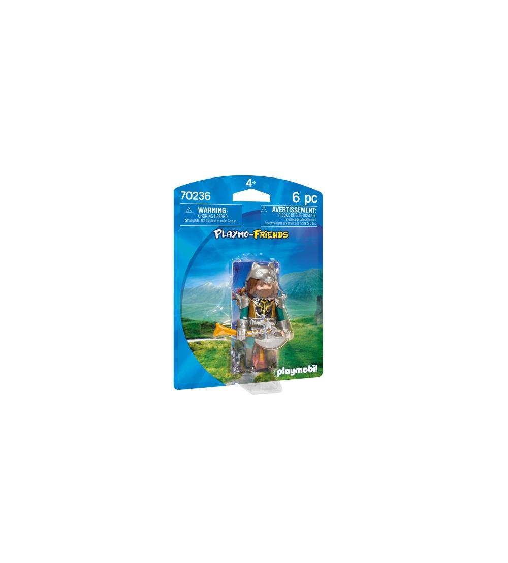 Figurina luptator lup playmobil