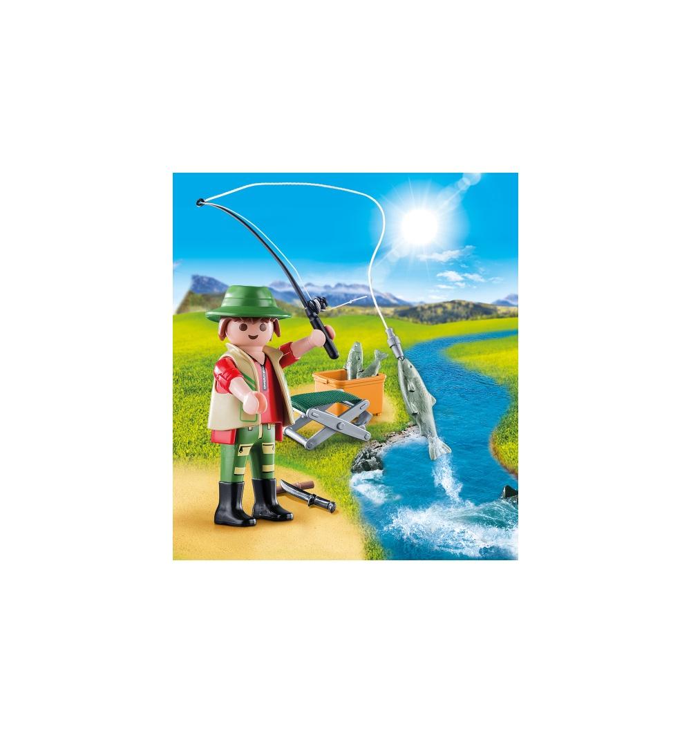 Figurina pescar playmobil - 1