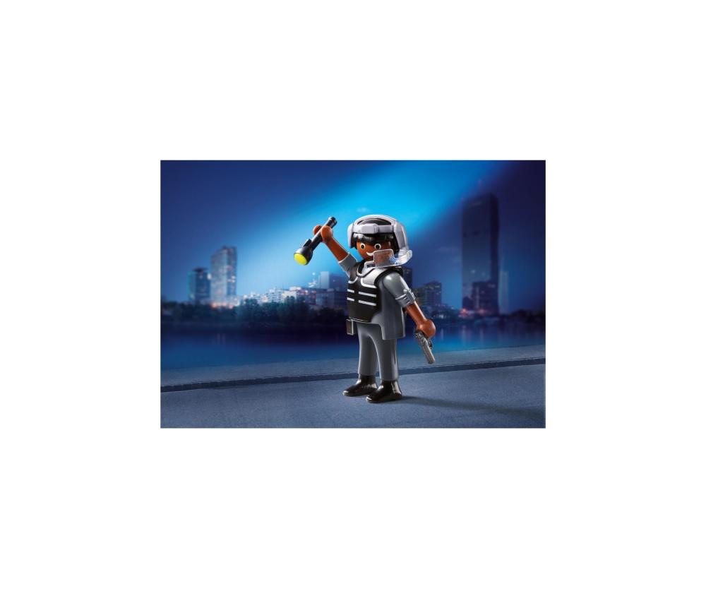 Figurina politist swat playmobil - 1
