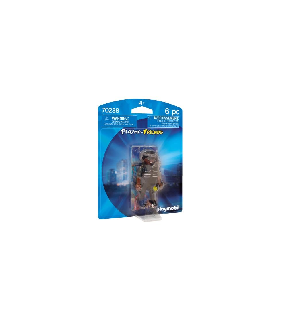 Figurina politist swat playmobil
