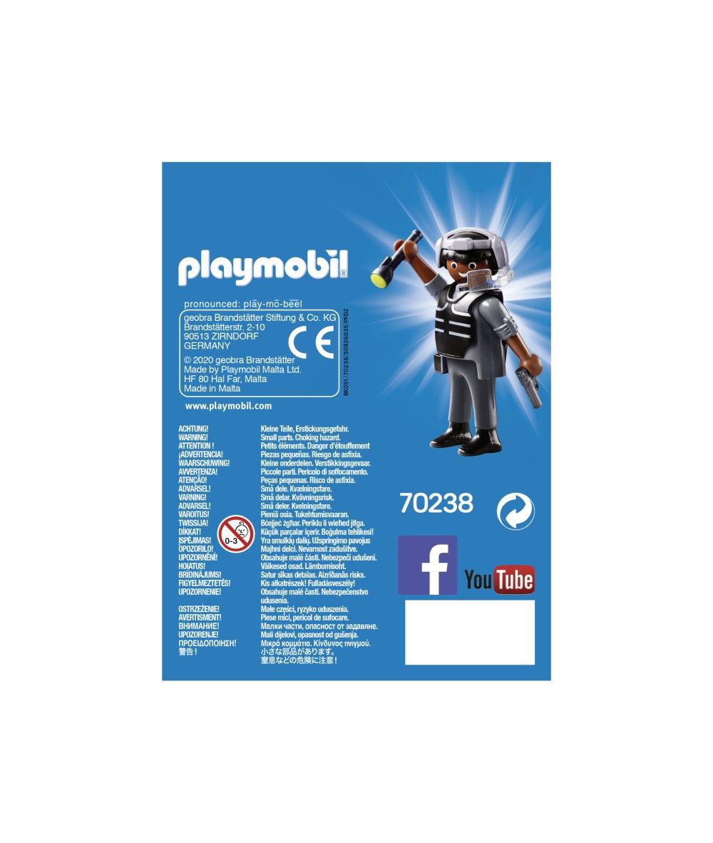 Figurina politist swat playmobil - 2