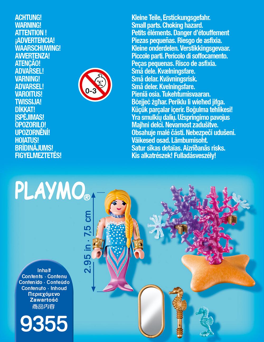 Figurina sirena playmobil - 1