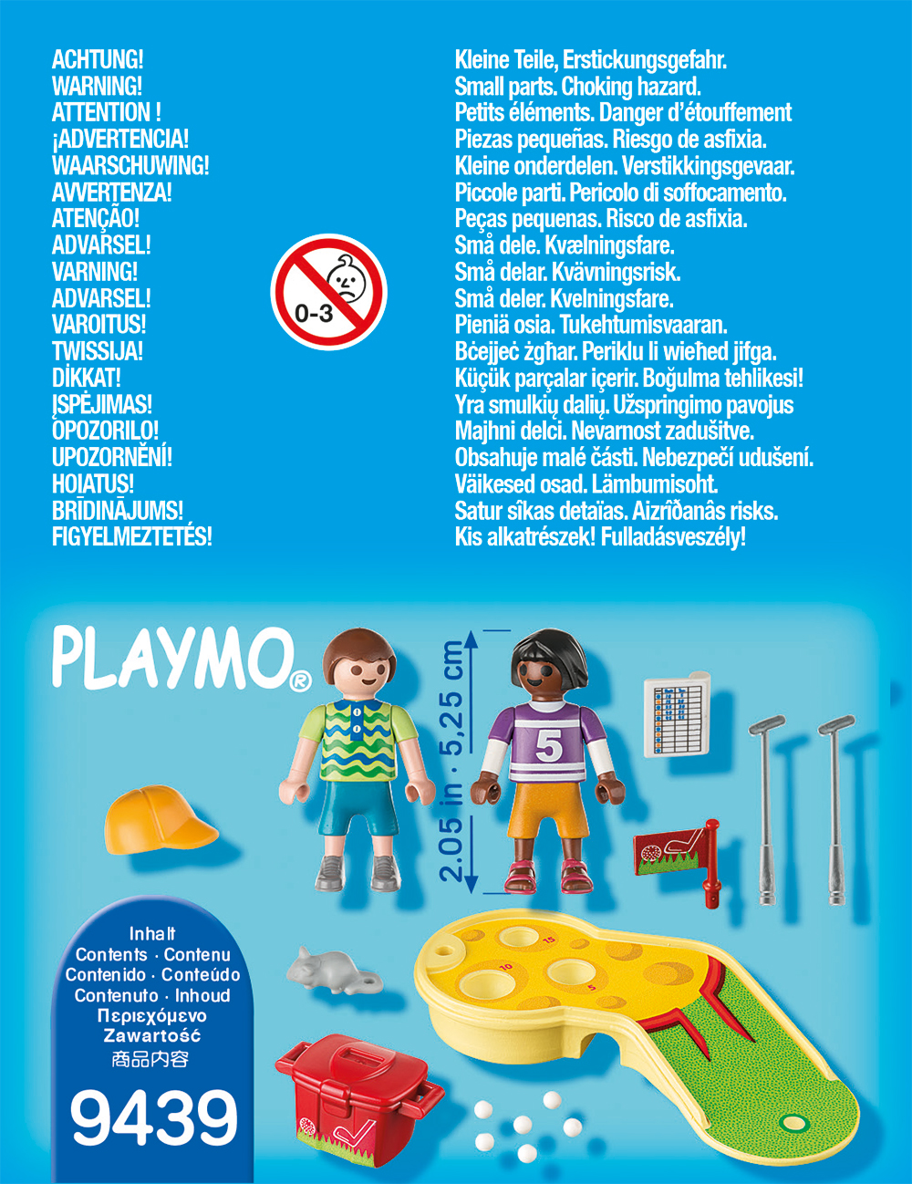 Figurine jucand minigolf playmobil - 1