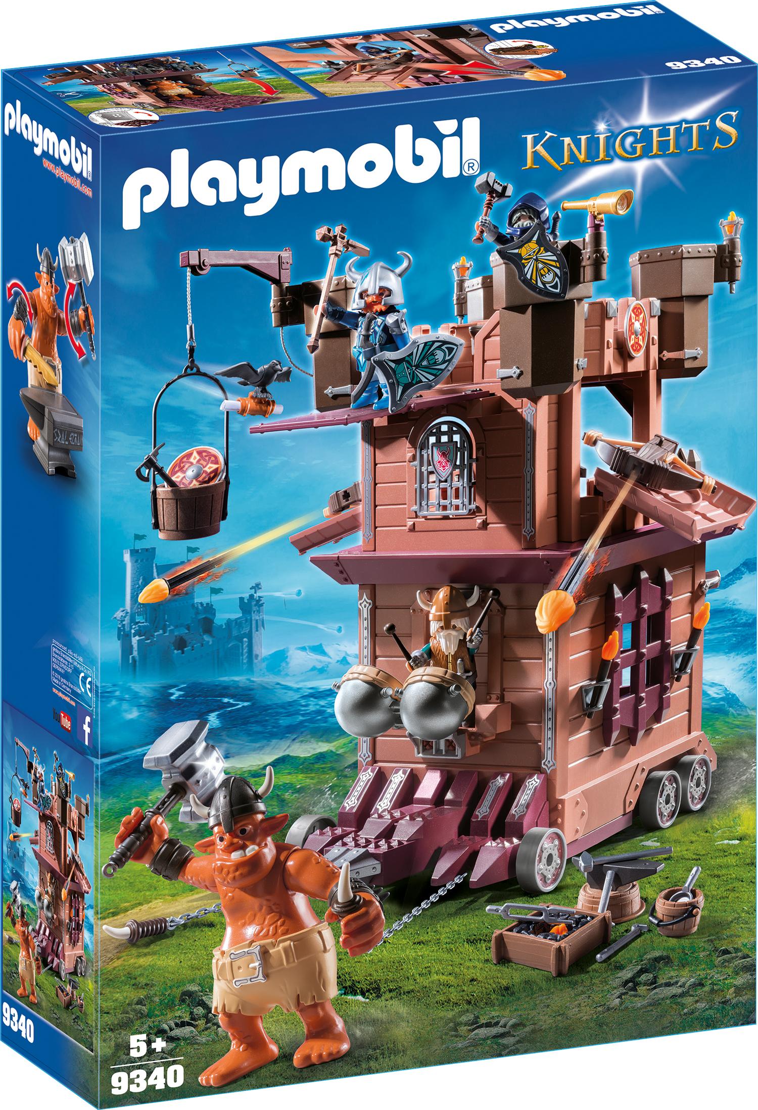 Fortareata cavalerilor pitici playmobil knights