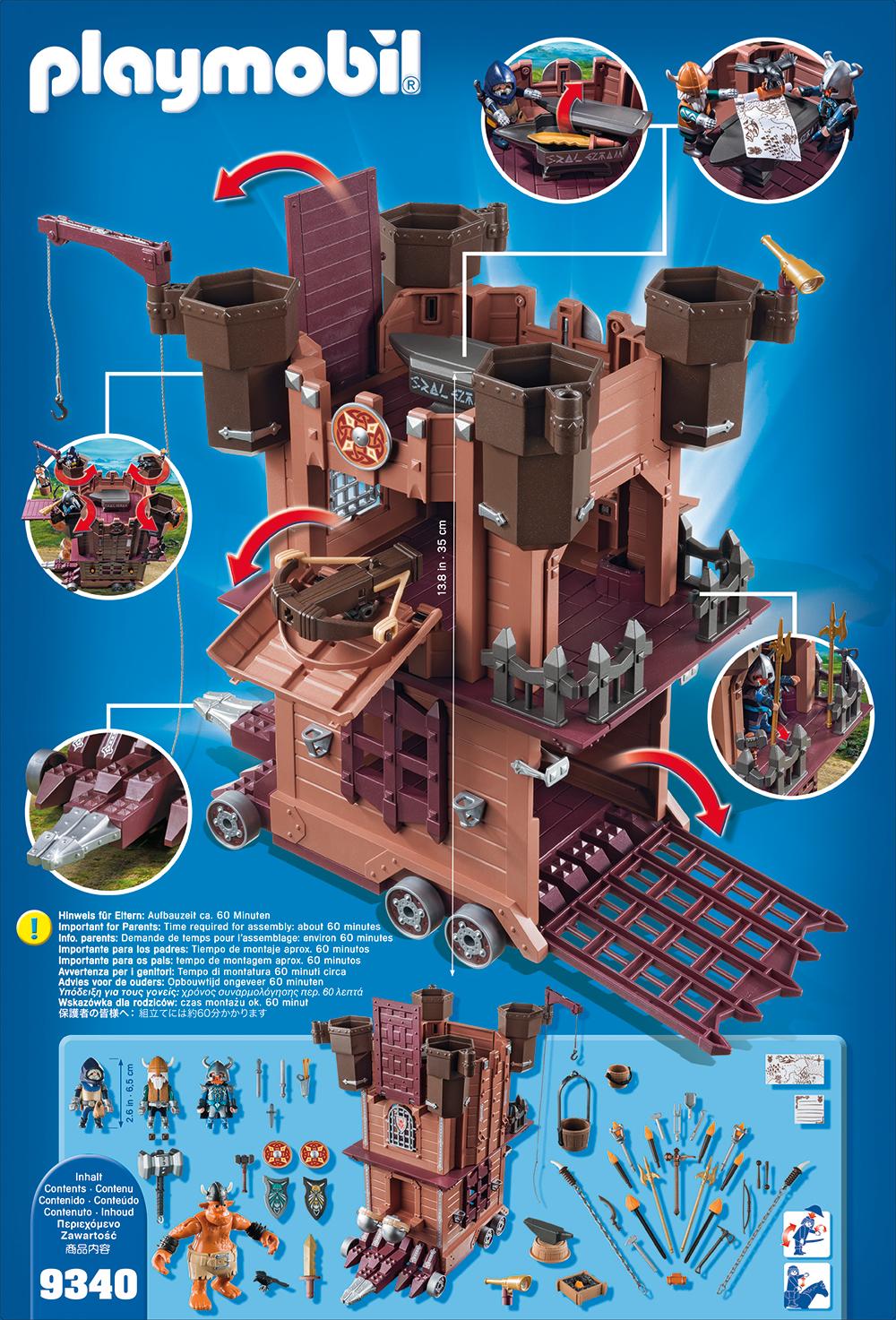 Fortareata cavalerilor pitici playmobil knights - 1