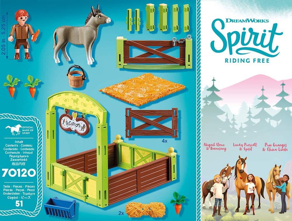 Grajd si copil cu morcovi playmobil spirit - 1