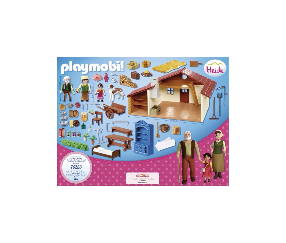 Heidi si cabana din munti playmobil heidi - 2