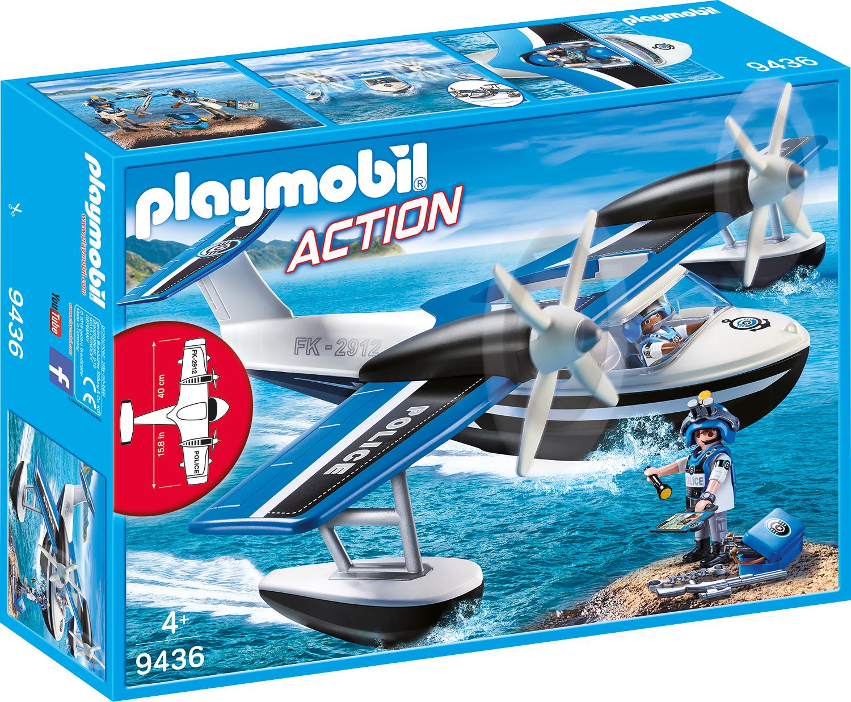 Hidroavionul politiei playmobil action