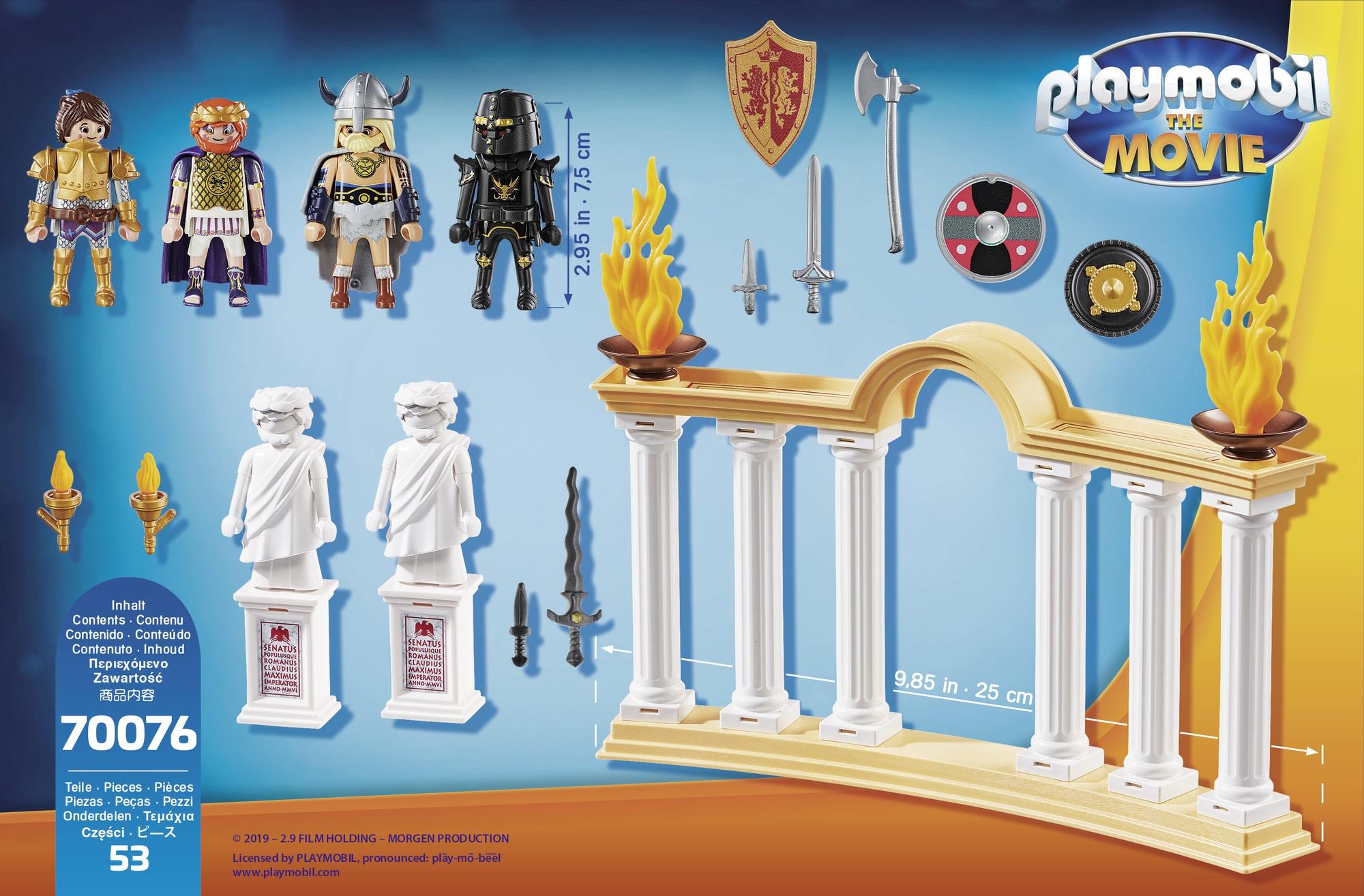 Imparatul maximus in colosseum playmobil movie - 2