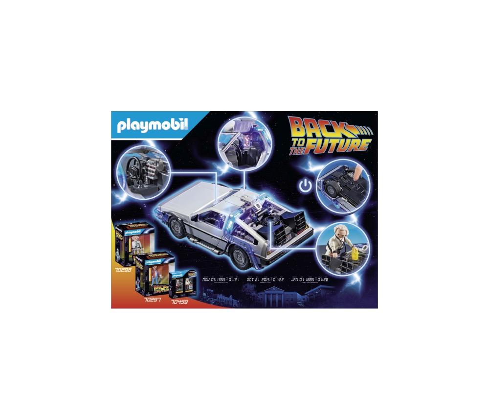 Inapoi in viitor delorean playmobil - 1