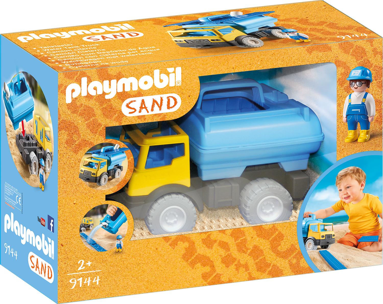 Jucarie pentru nisip cu cisterna playmobil sand