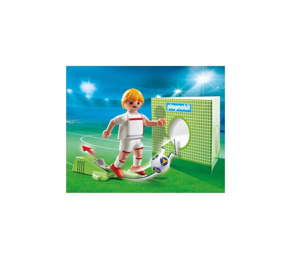 Jucator fotbal anglia playmobil sports action - 1