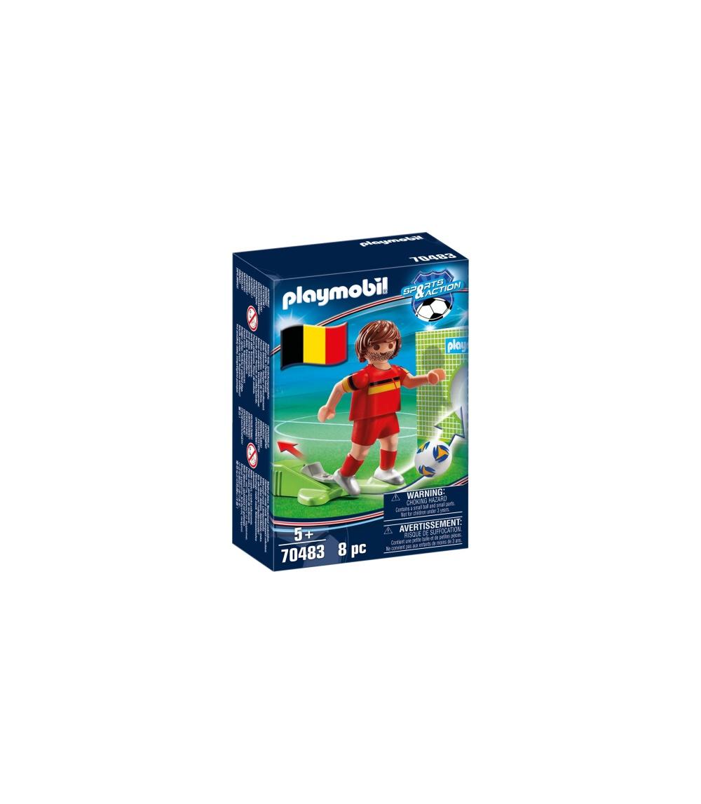 Jucator fotbal belgia playmobil sports action