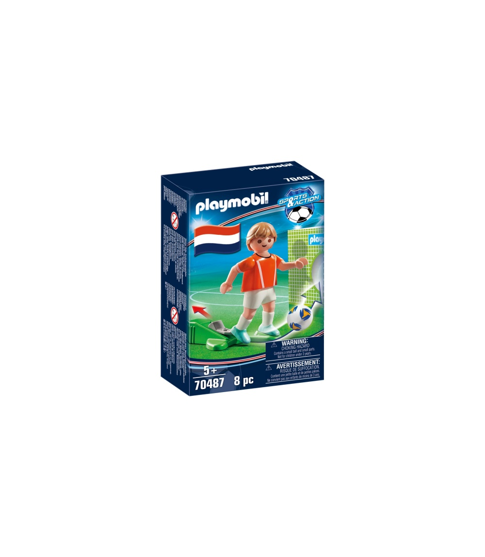 Jucator fotbal olanda playmobil sports action