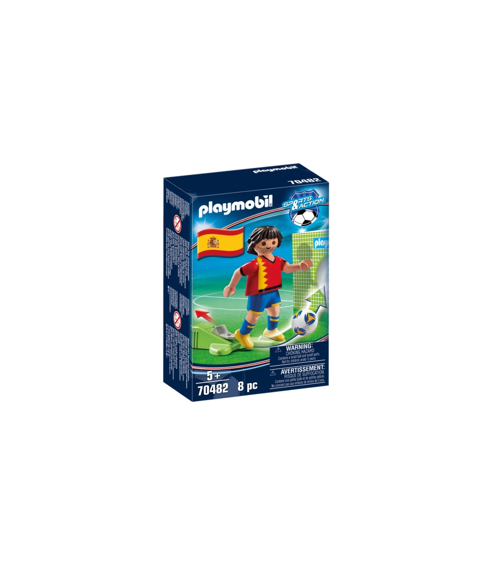Jucator fotbal spania playmobil sports action