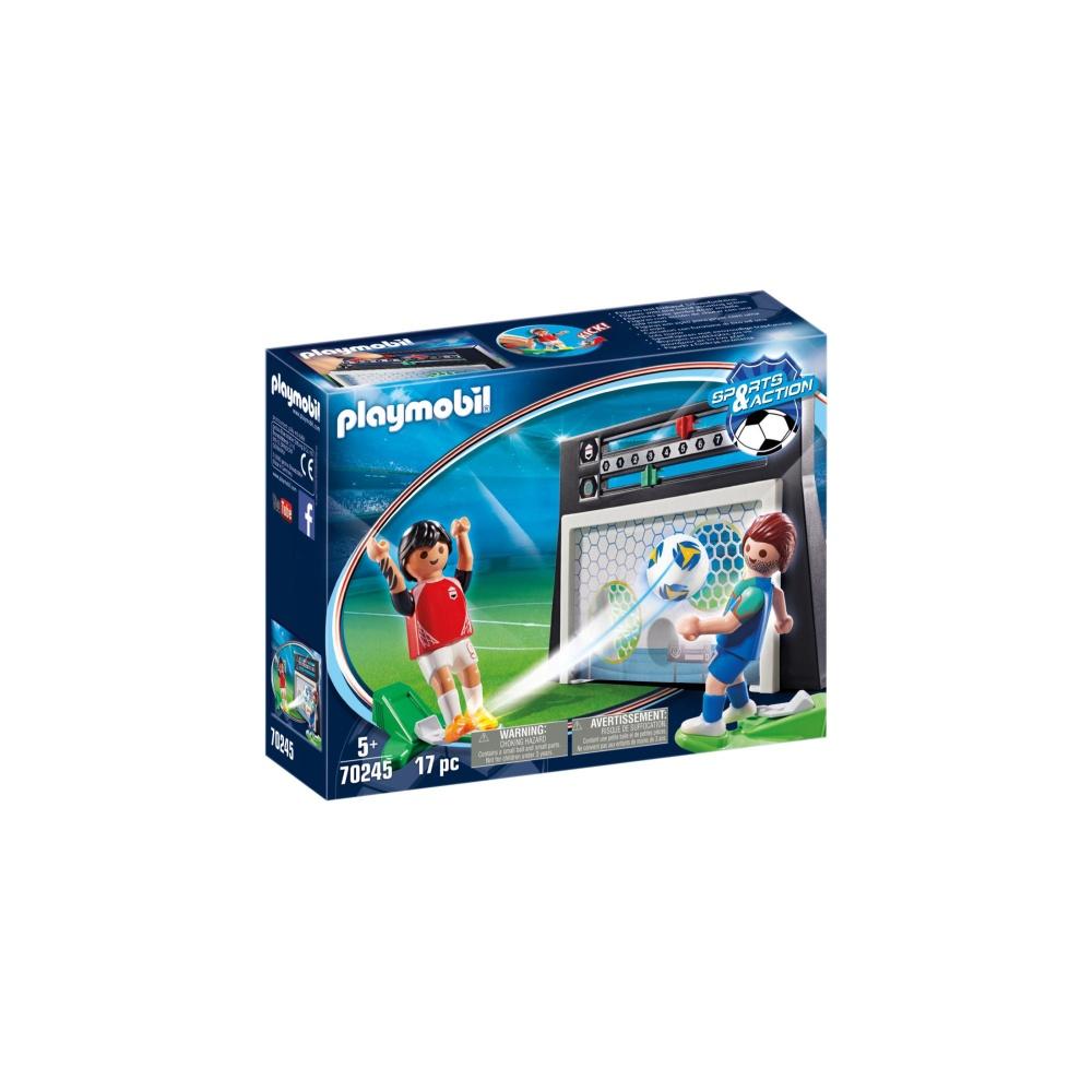 Jucatori de fotbal playmobil sports action