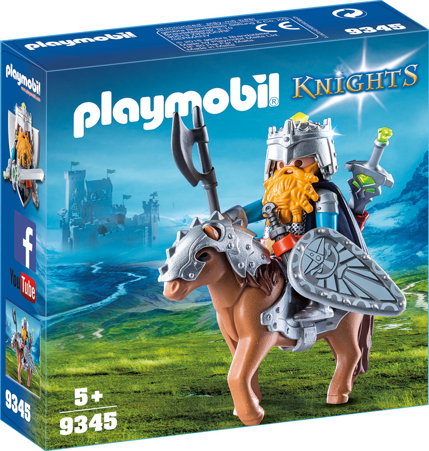 Luptator pitic cu ponei playmobil knights