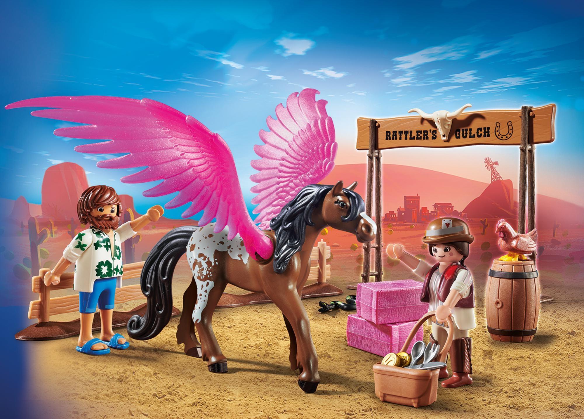Marla si del cu calul inaripat playmobil movie - 2