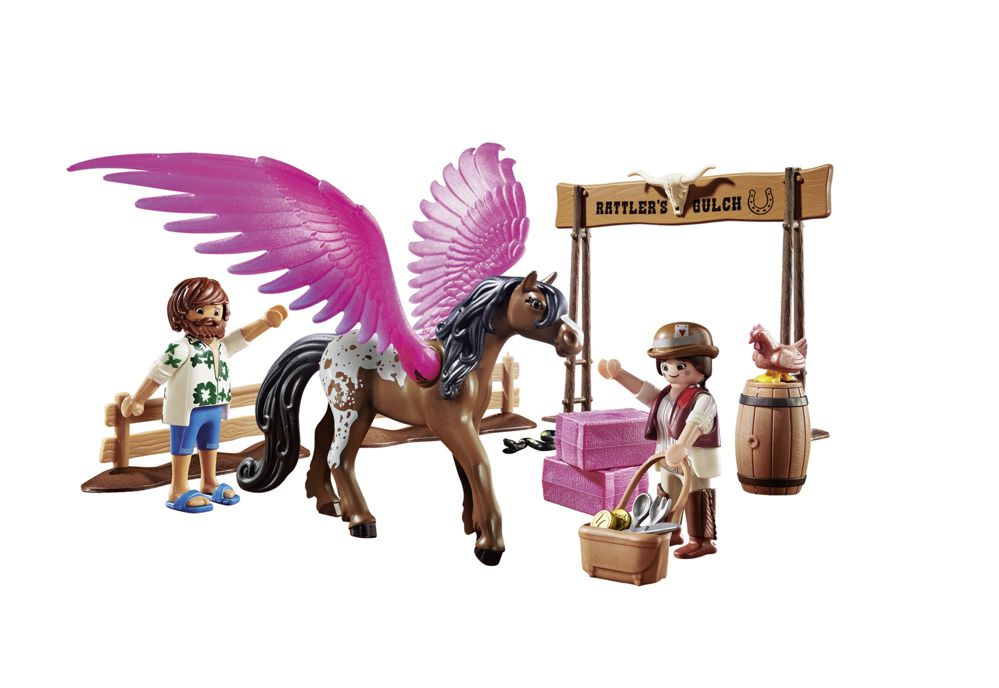 Marla si del cu calul inaripat playmobil movie - 1