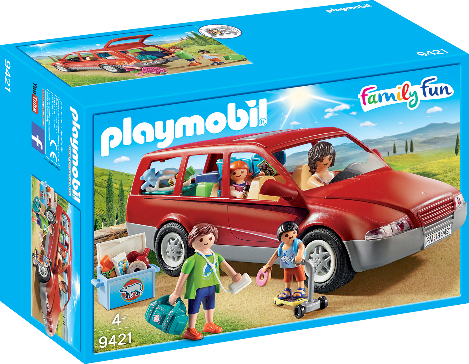 Masina de familie playmobil family fun
