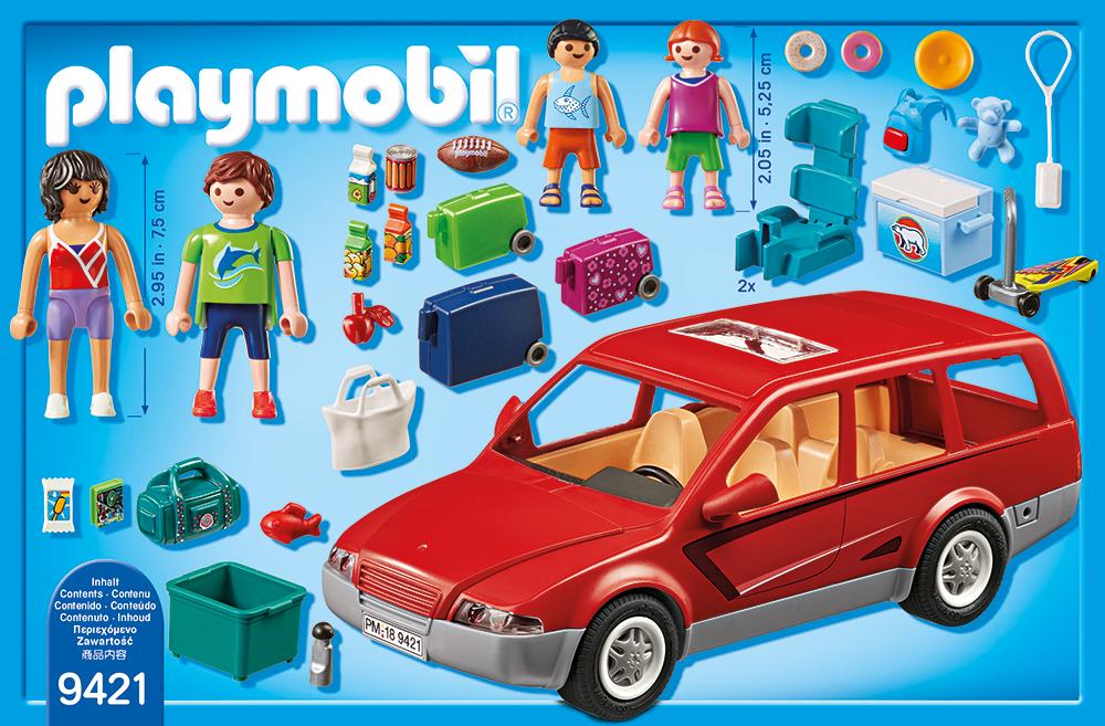 Masina de familie playmobil family fun - 1