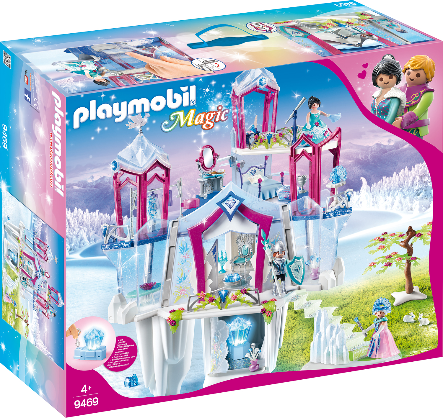 Palatul de cristal playmobil magic