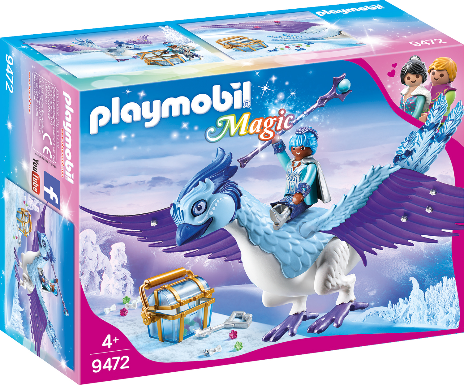 Pasarea phoenix a iernii playmobil magic