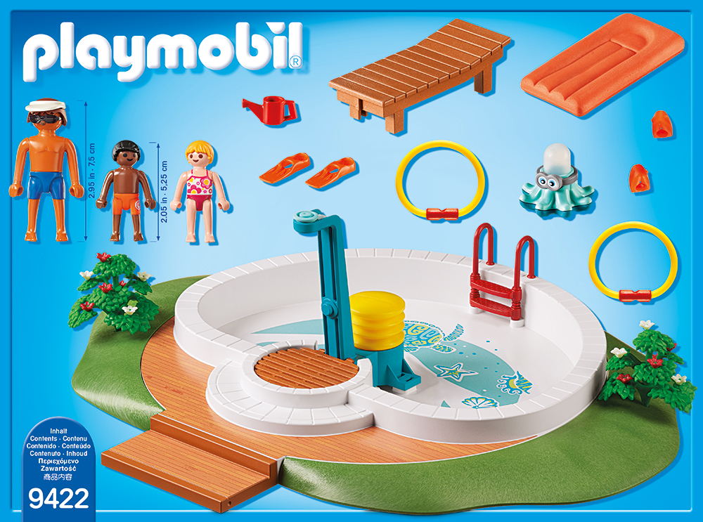 Piscina playmobil family fun - 1