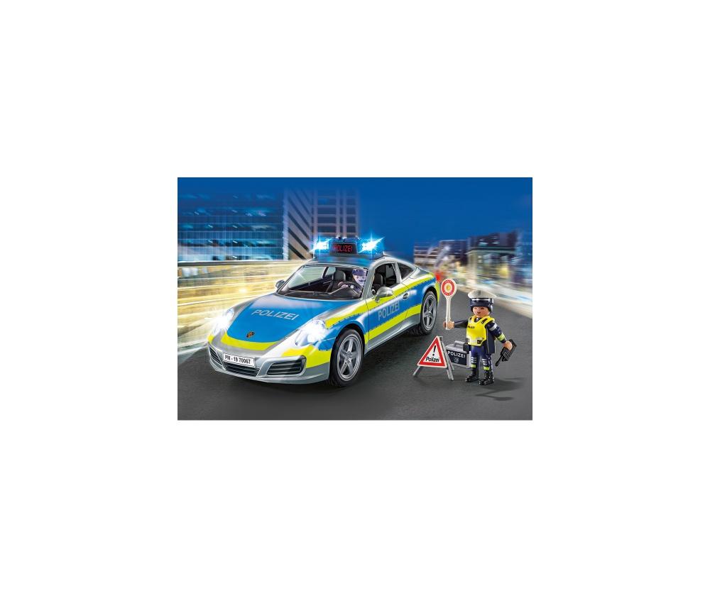 Porche 911 carrera 4s politie playmobil - 2