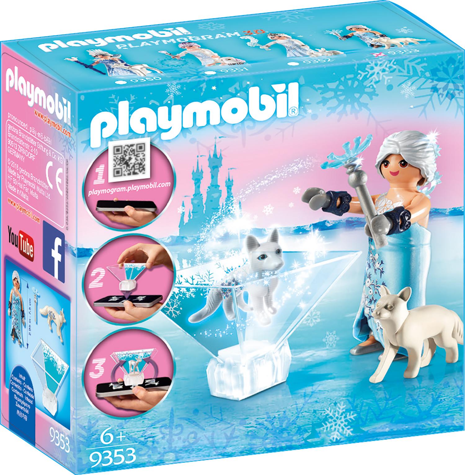 Printesa florilor de iarna playmobil magic