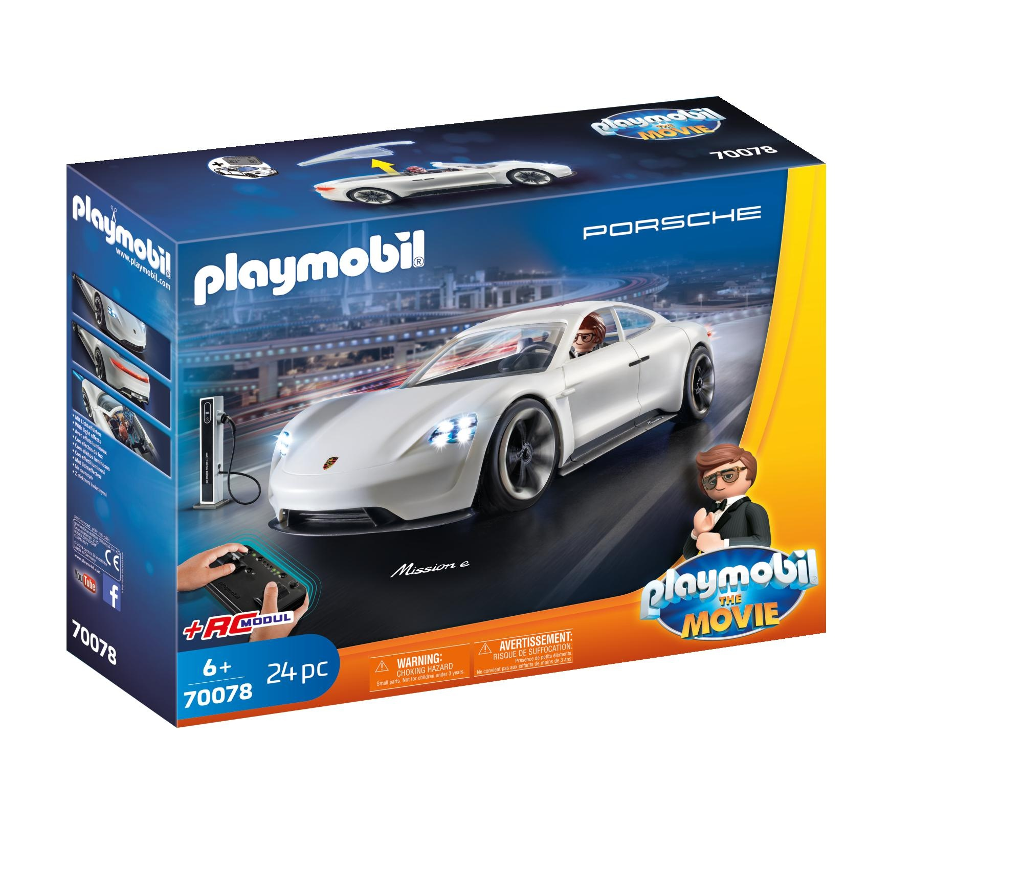 Rex dasher cu porsche mission playmobil movie