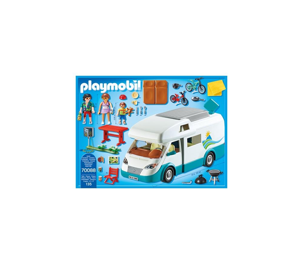 Rulota camping playmobil family fun - 1