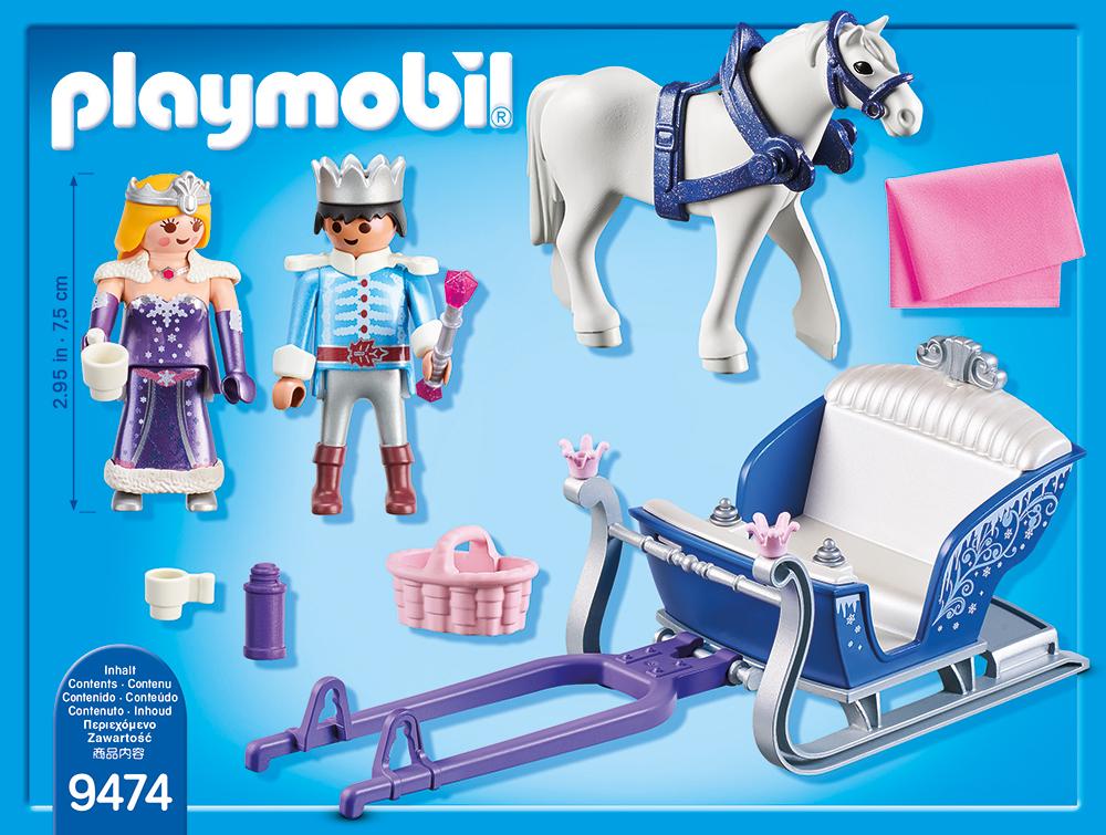 Sanie cu cuplu regal playmobil magic - 1