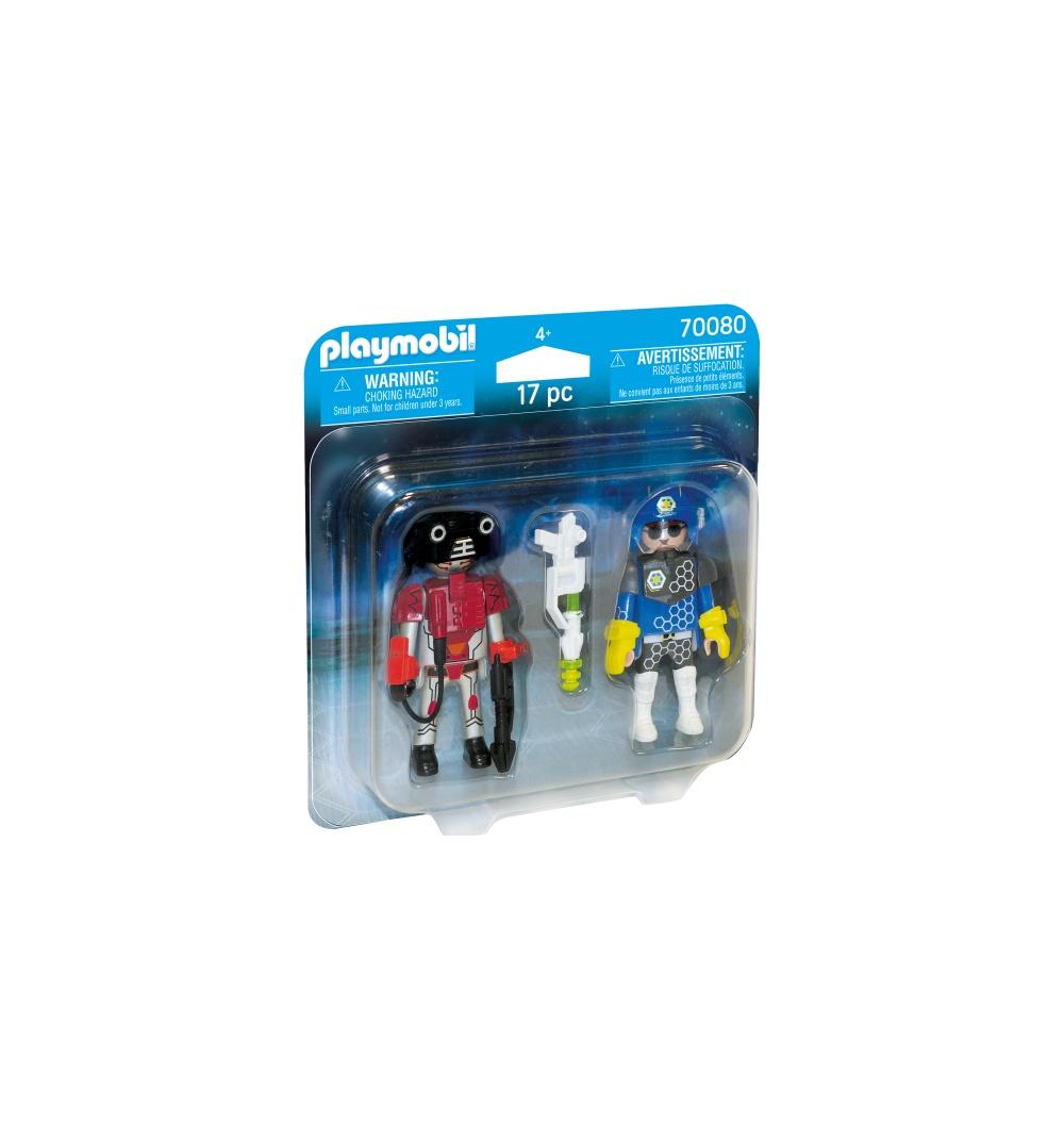 Set 2 figurine politist si hot playmobil