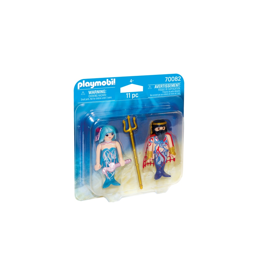 Set 2 figurine rege si sirena playmobil
