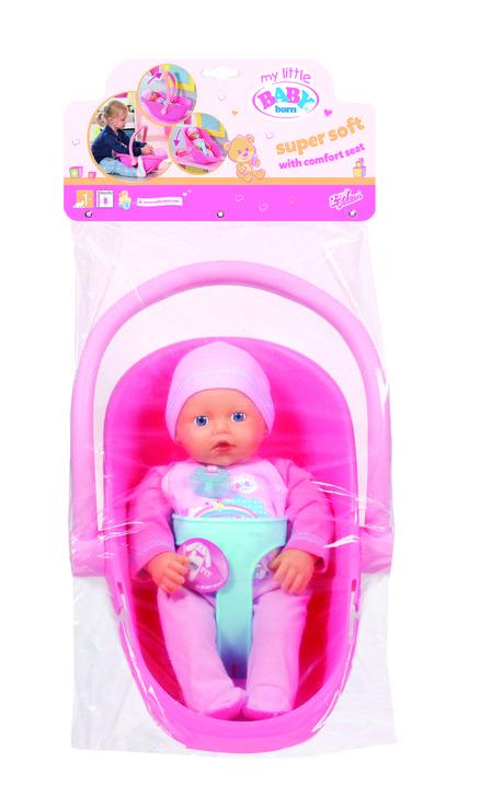 Set scoica si bebelus my little baby born imagine
