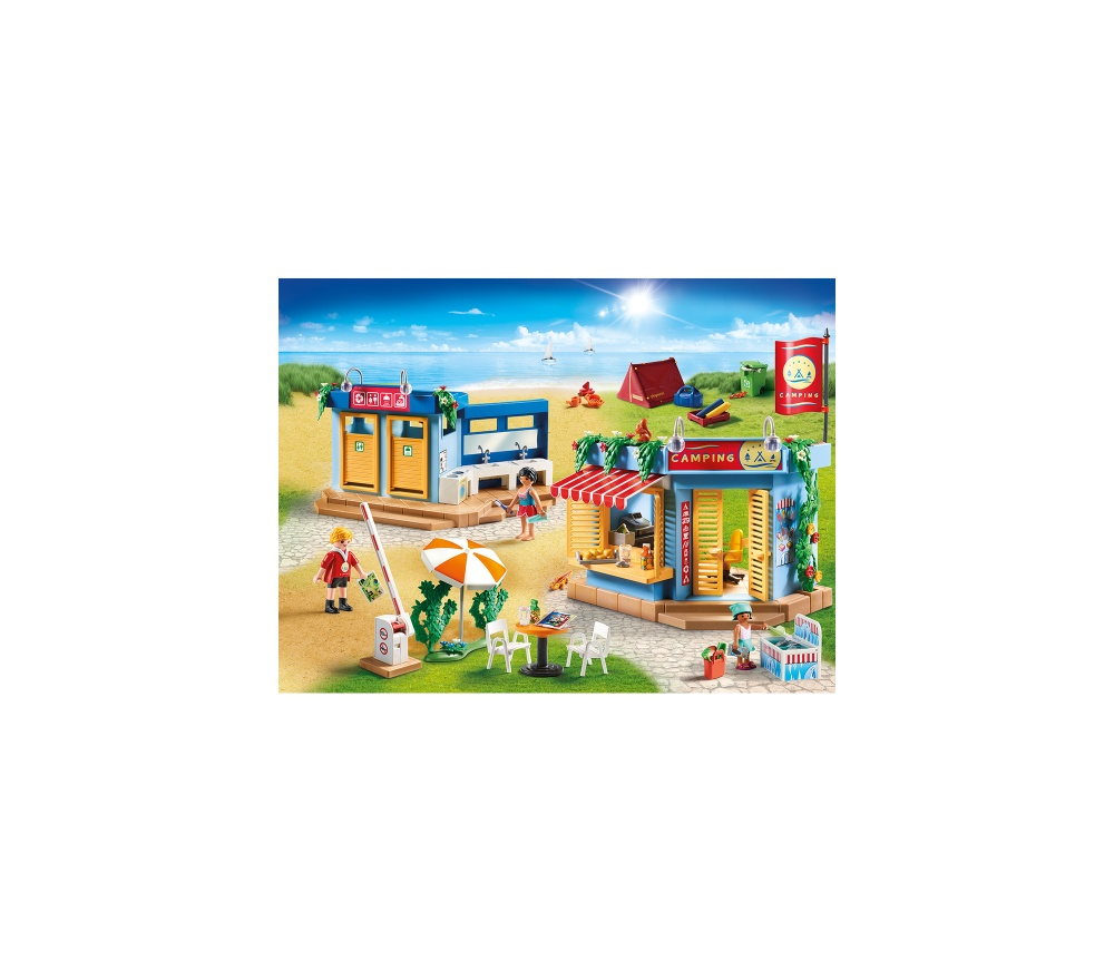 Camping la plaja playmobil family fun - 2