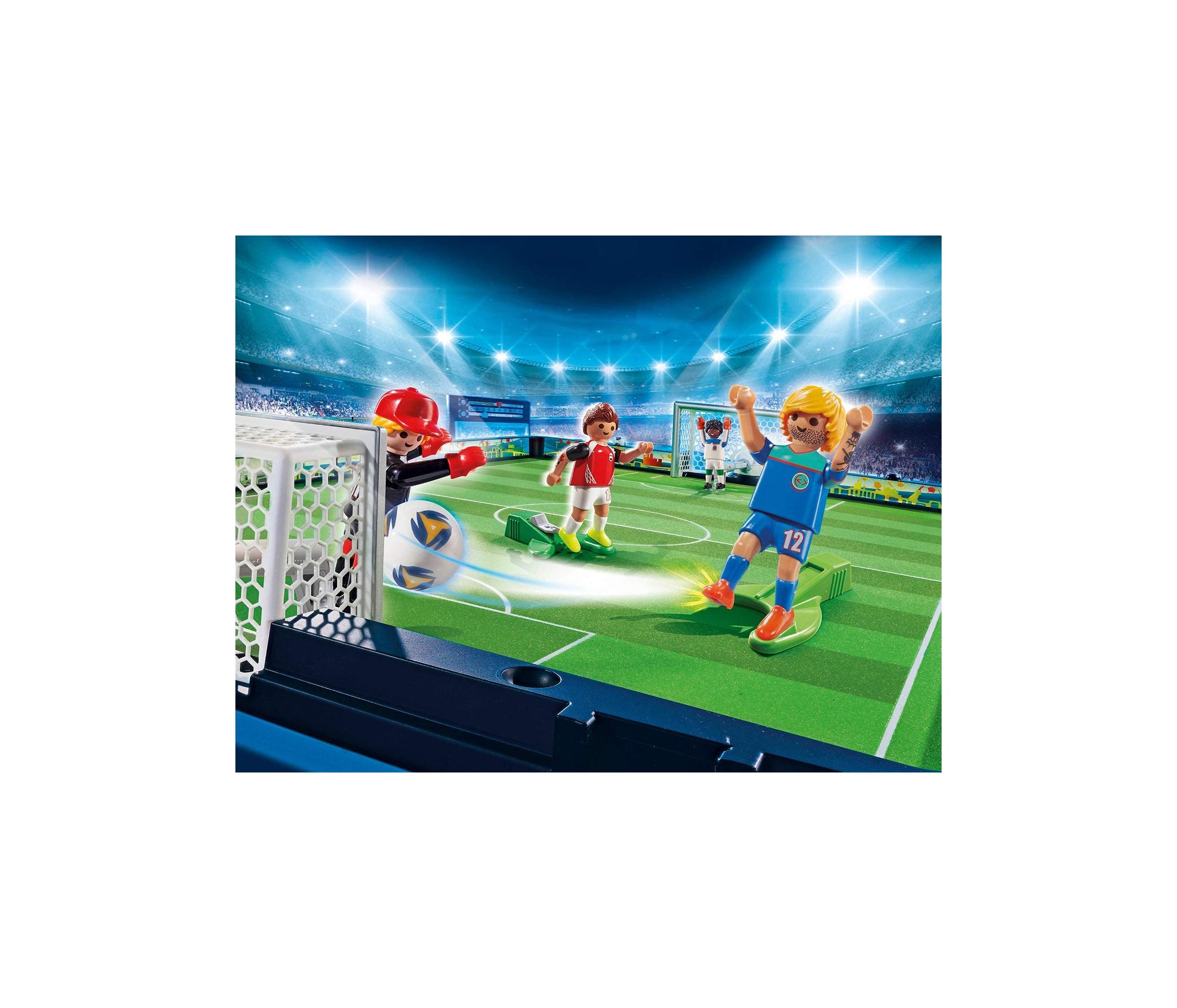 Set mobil arena de fotbal playmobil sports action - 2